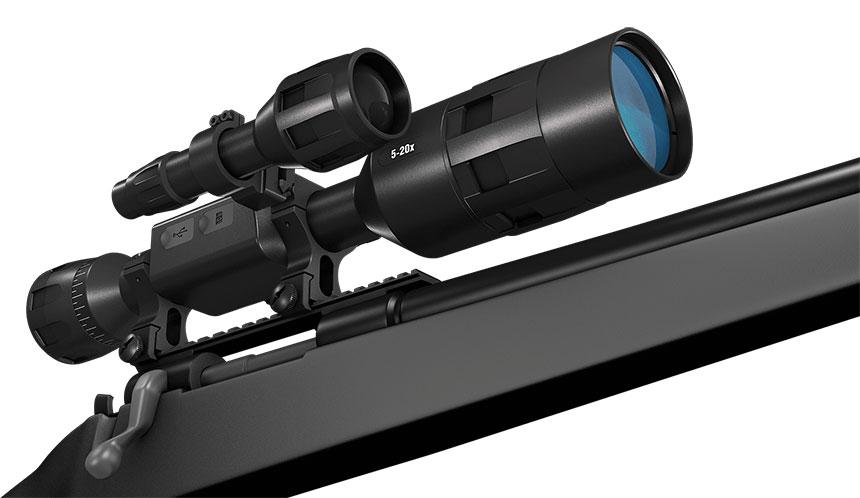 atn x sight 4k pro 5 20x 3 - ATN X-SIGHT 4K PRO 3-14X新款日夜两用智能数码红外夜视仪